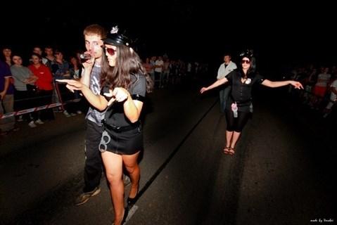 Эротический костюм полицейского - платье на молнии - фото 8977