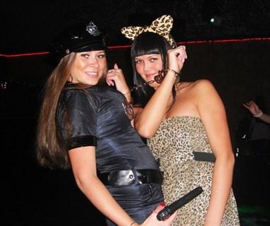 Эротический костюм полицейского - платье на молнии - фото 8978