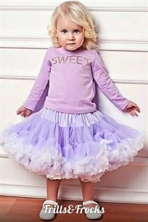 Пышная юбка Frills&Frocks светло-фиолетовая