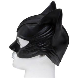 Латексная маска женщины кошки - фото 9165