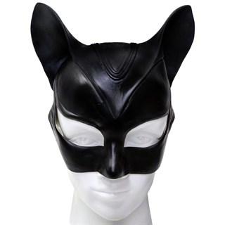 Латексная маска женщины кошки - фото 9166