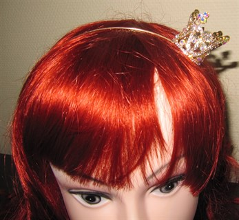 Корона для принцессы золотая