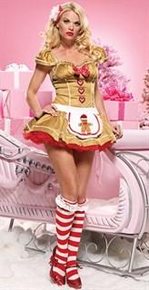 Девушка - печенька
