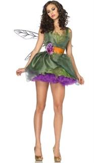 Карнавальный костюм цветочной феи с крыльями