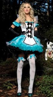 Алиса в стране Чудес с перчатками