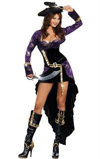 Шикарная пиратка со шлейфом