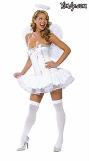 Маскарадный костюм ангелочка с крыльями