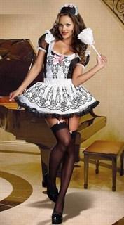 Платье горничной с расписным фартуком